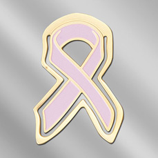 Breast Cancer Awareness Ribbon Bookmark