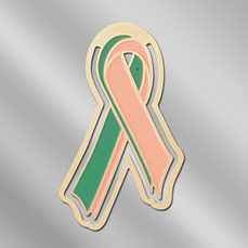 Organ Donor / Organ Recipient Awareness Ribbon Bookmark