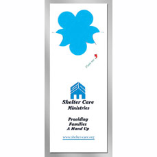 Flower Floral Seed Paper Pop Out Bookmark