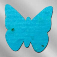Floral Seed Paper Pop-Out Booklet - Butterfly