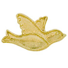 Dove Cast Stock Jewelry Pin